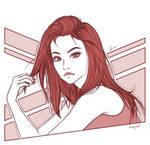 Monochrome Sketch 5 by BabyReni