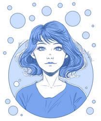 Monochrome Sketch 7 by BabyReni