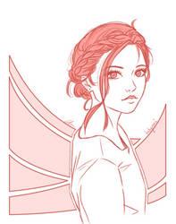 Monochrome Sketch 8 by BabyReni
