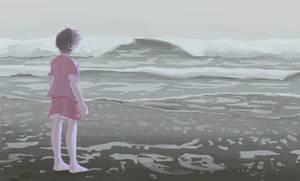 beach by Mewball
