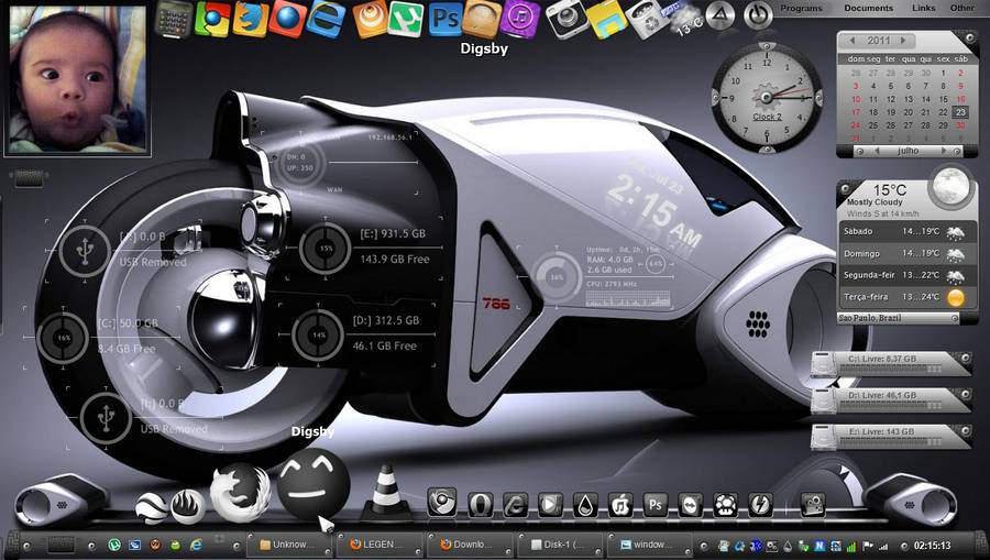 My Desktop 2011 by cleubinho