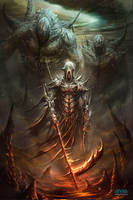 Las puertas del infierno by Dibujante-nocturno
