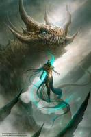 Luz de dragon by Dibujante-nocturno