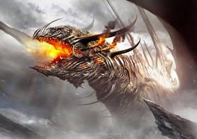 Dragon Steampunk by Dibujante-nocturno