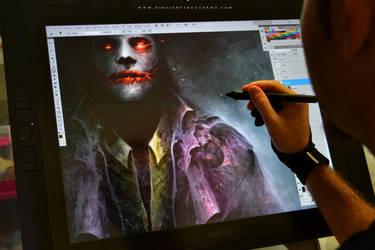 Y ahora el Joker... by Dibujante-nocturno