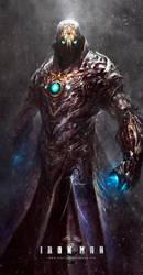 Iron Man / Dark / Steampunk by Dibujante-nocturno
