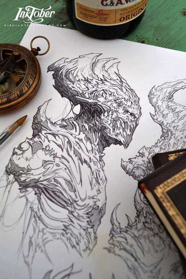 Inktober day 6 :) by Dibujante-nocturno