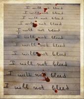I will not bleed by Kamitu