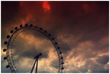 Ferris Wheel by artisthepassion