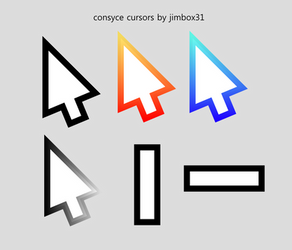 Consyce Windows Cursors by jimbox31