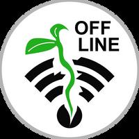 OFF LINE Circle Badge by jimbox31