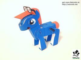 Poseable Papercraft Teddy Fan Art by jimbox31
