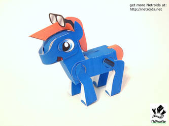 Poseable Papercraft Teddy Fan Art by jimbox31