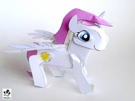 Empyrea The Pony Papercraft by jimbox31