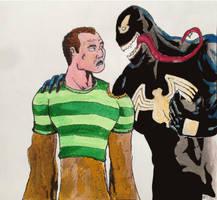 Sandman and Venom by MarcoCalosci
