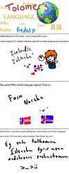 Language meme :D by redhedge1
