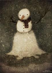 the last snowman by berkozturk