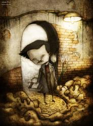 Edgar Allan Poe by berkozturk
