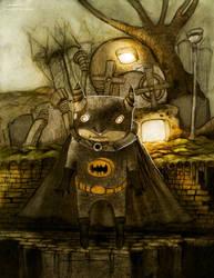 steampunk batman by berkozturk