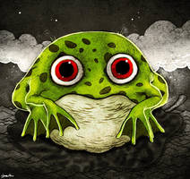 frog by berkozturk