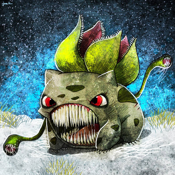 bulbasaur by berkozturk