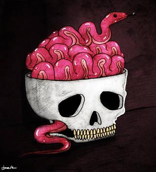 snake brain by berkozturk