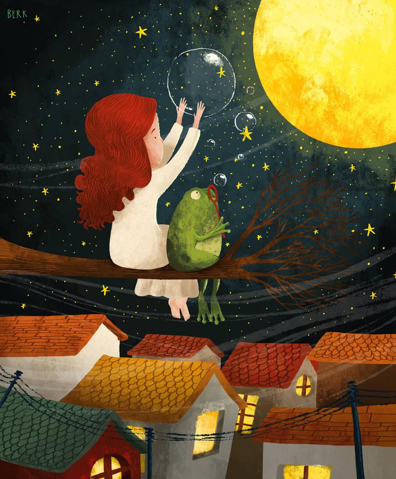 moonlight by berkozturk