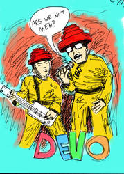 We Are Devo by K-111