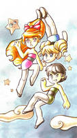 Powerpuff Girls by Gigei