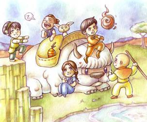 Chibi Avatar by Gigei