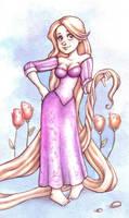 Rapunzel by Gigei
