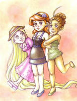 Disney Girls by Gigei