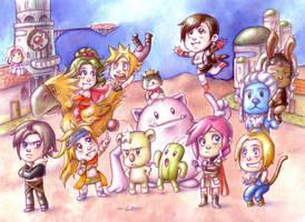 Final Fantasy by Gigei