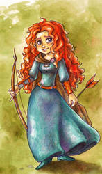 Merida by Gigei