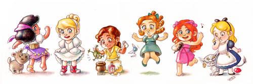 Disney Babies2 by Gigei