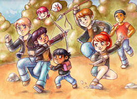 The hunger games by Gigei