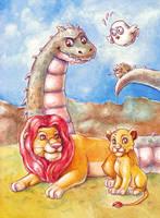 Animals Everywhere by Gigei