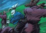 Usagi Yojimbo by yumereves