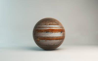 Planet  jupiter by microbot23