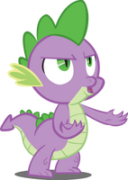 Spike Y U NO? by Mowza2k2