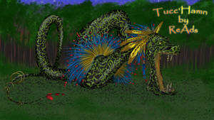 Thunka the Marked - Draco by ReedsAdoptions