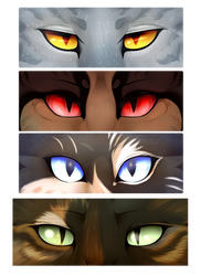 Cat Eyes! by RagingConflagration