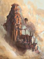 Cloud Castle by hungerartist