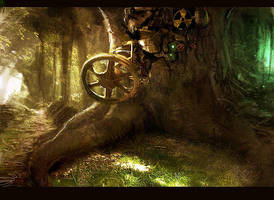 Overgrown Machine by hungerartist