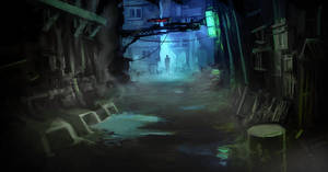 Just Another Alley by hungerartist