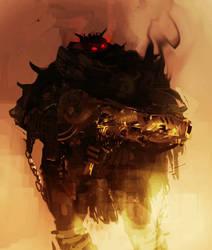 Lesser Demon by hungerartist