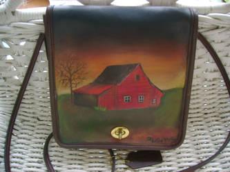 Illinois Old Barn Coach Purse by earringtree