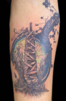 Final Fantasy Tattoo Touch up by Uken