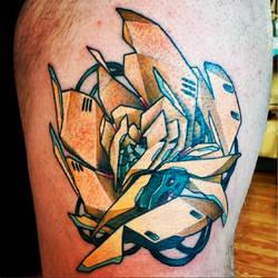 Mecha Rose by Uken