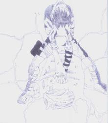 Sasuke's Chidori by Orelh
